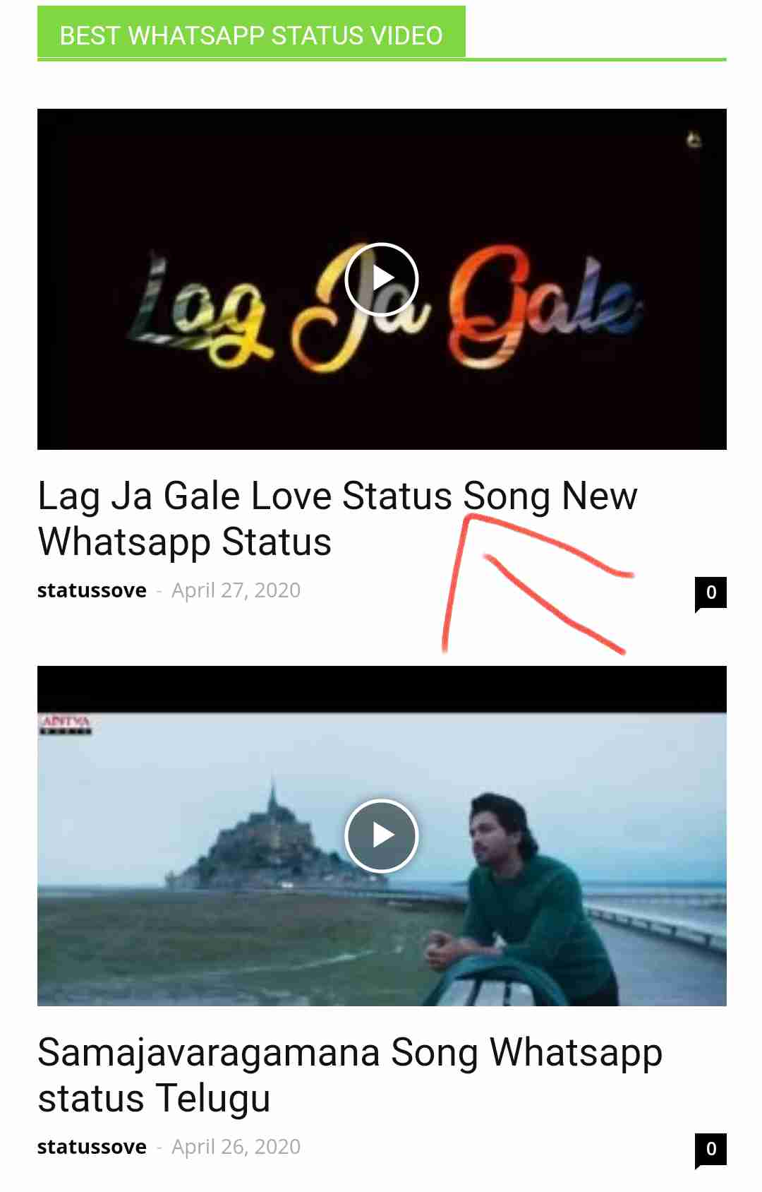 How to Download Whatsapp Status Video and Photos - Statussove