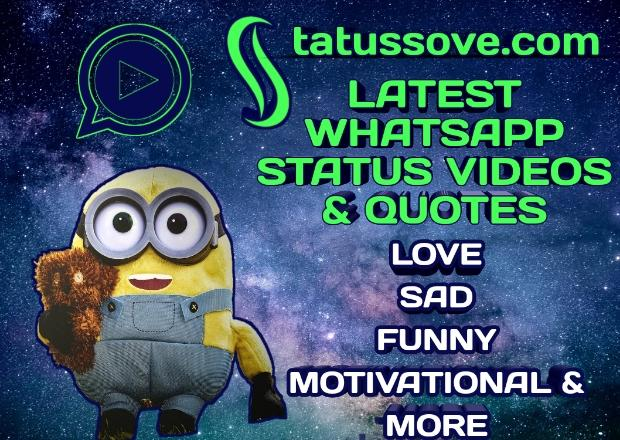 Statussove.com front logo Whatsapp status video Download