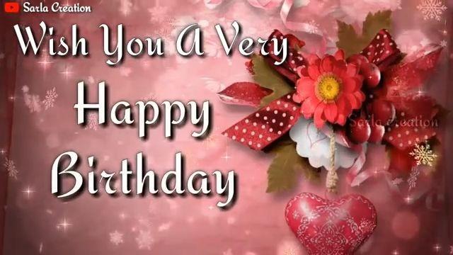 Wish You Happy Birthday Status Greeting Wishes Happy Birthday Status Video Download