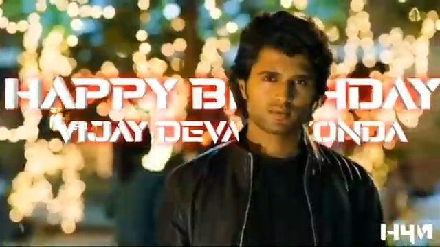 Vijay Devarakonda Happy Birthday Whatsapp Status Video download