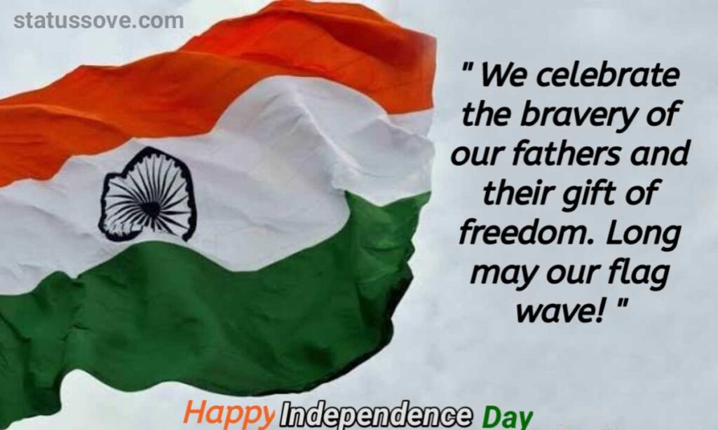 We celebrate the bravery of our fathers and their gift of freedom. Long may our flag wave! Happy 74th Independence Day!