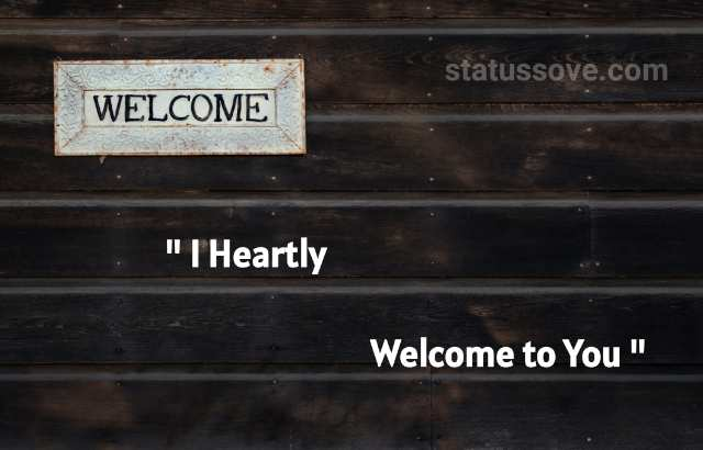 Best Welcome quotes